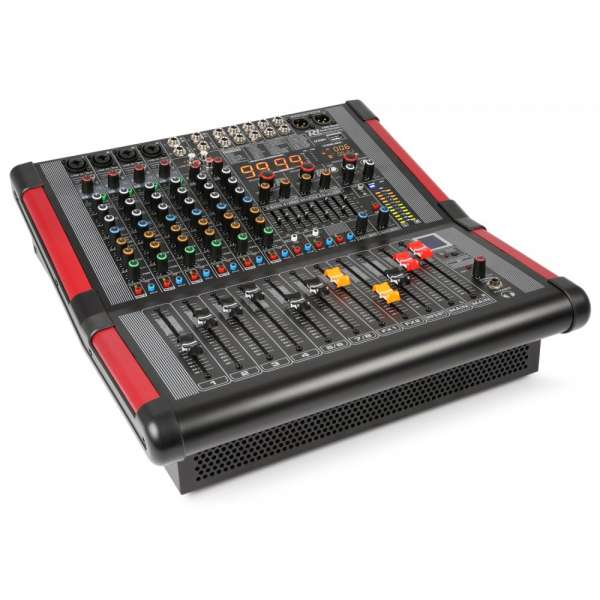 Power Dynamics PDM-S804A 8-Kanal Stage Mixer mit Verstärker