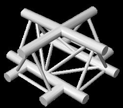 ExpoTruss X3K-30 Alu 3-Punkt Kreuz