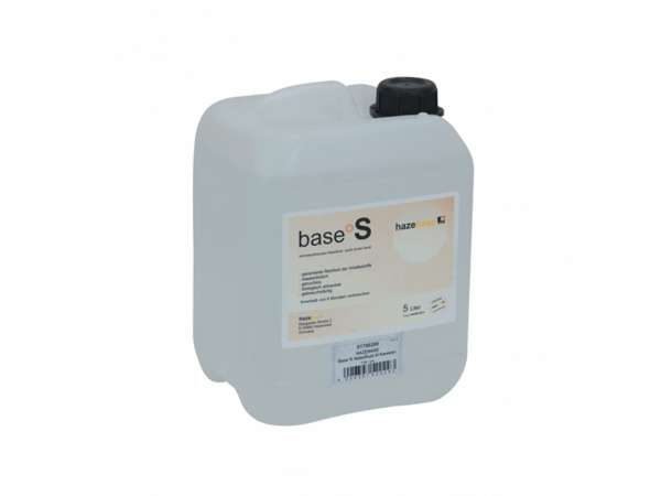 Hazebase base*S, schnell auflösendes Nebelfluid