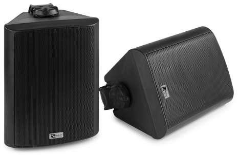 Power Dynamics BGB50 aktiv Outdoor Lautsprecher Set mit Bluetooth SW