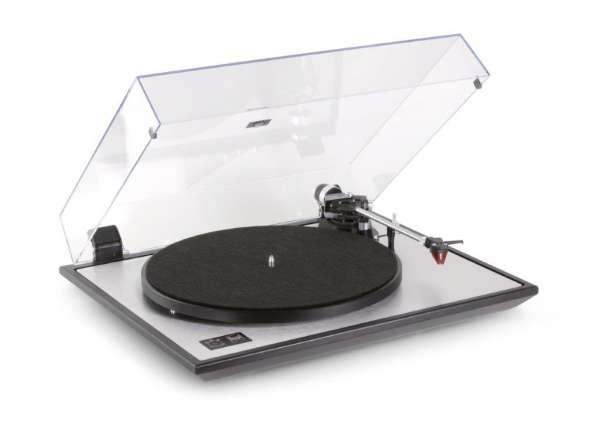 Dual CS 800 Schallplattenspieler Silber Made in Germany