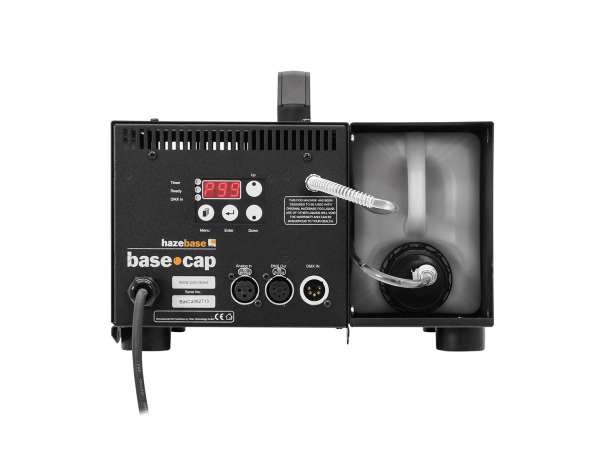 HAZEBASE base*cap, Nebelmaschine 650W, 230V/50Hz, klein und kompakt