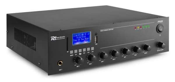 Power Dynamics PPA30 100V Verstärker mit Bluetooth / SD / USB / MP3