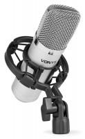 Vonyx CM400 Studio Kondensator Mikrofon Silber