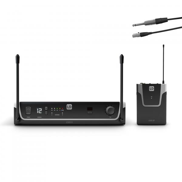 LD Systems U304.7 BPG - Funksystem mit Bodypack und Gitarren Kabel