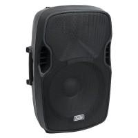Showgear Venga 15 aktiv Party Lautsprecher mit USB SD und Radio