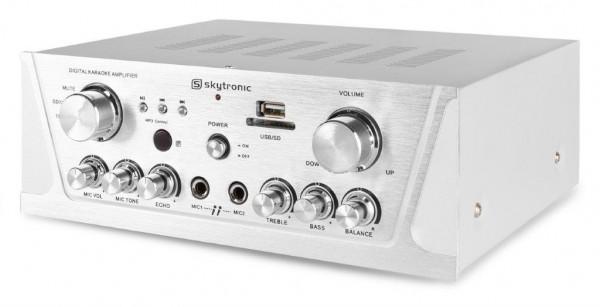 SkyTronic AV420S Hifi Verstärker mit USB- und SD-Player sowie Radio