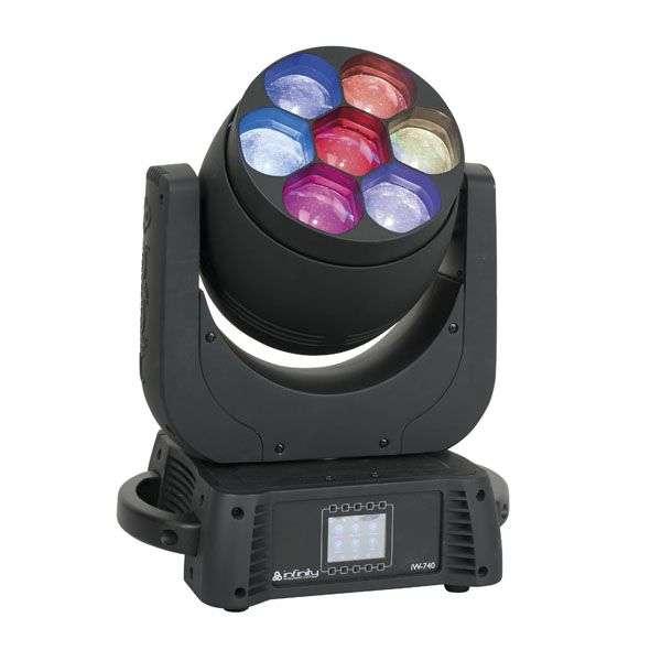 INFINITY iW-740 RGBW Wash, Zoom, Pixel control