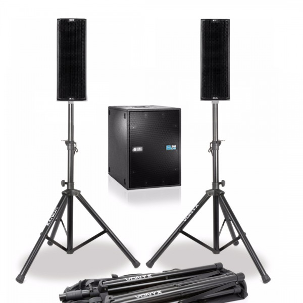 dB Technologies Ingenia IG1T Entertainer Set mit DVA S08DP