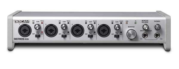 Tascam SERIES 208I - USB-Audio-/MIDI-Interface mit DSP-Mixer (20 Eingänge, 8 Ausgänge)