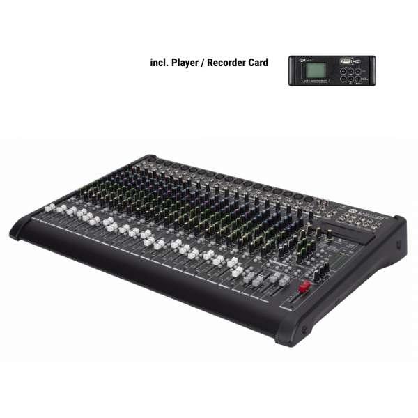RCF L-PAD 24CX inkl. MP3 Player Record Card