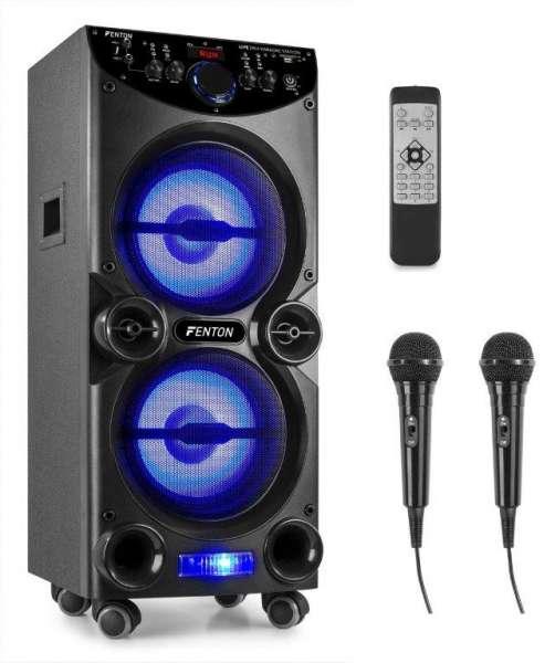 Fenton LIVE2104 Karaoke Anlage mit Bluetooth und USB / SD