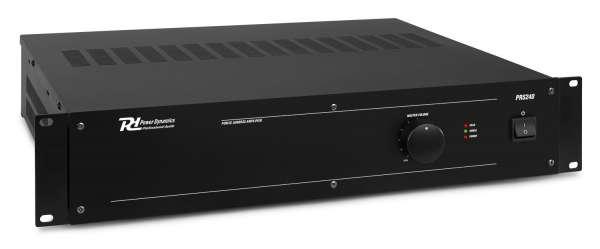 Power Dynamics PRS240 100V Verstärker Erweiterung