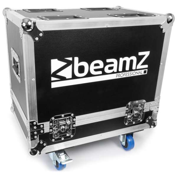 BeamZ Professional Flightcase für 2pcs Panther 2R UP