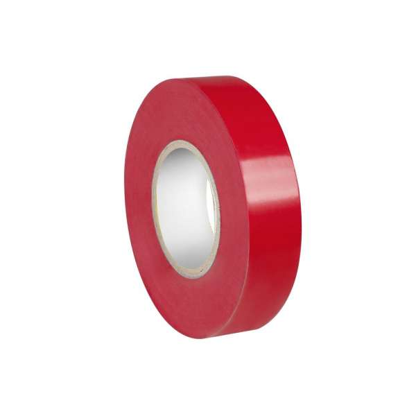 Adam Hall Isolierband 0,19 x 19 mm x 20 m rot