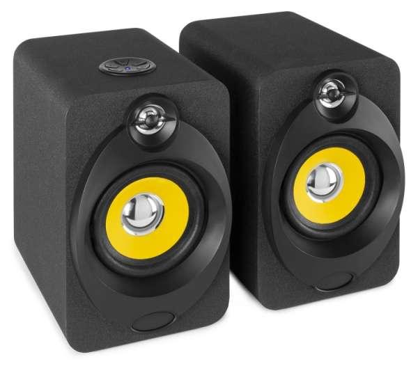 Vonyx XP40 aktiv Studio Monitor Set mit Bluetooth und USB