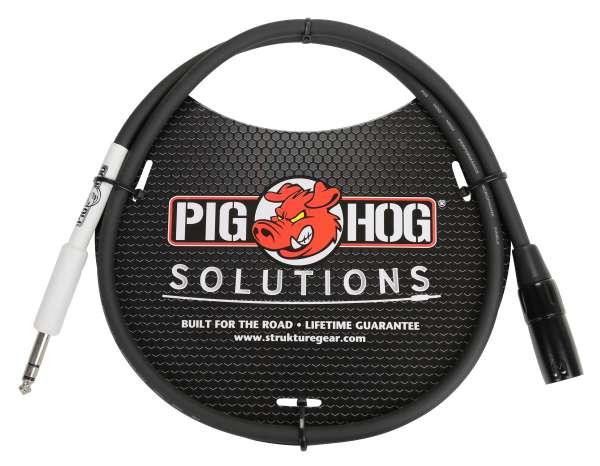 Pig Hog Adapterkabel XLR männlich - Klinkenstecker 6,35mm, 2m