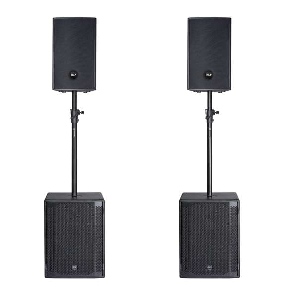 RCF 4PRO 1031-A Entertainer PA Set