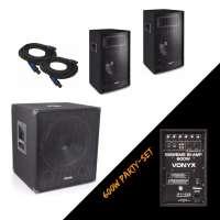 Vonyx 600W Party Set