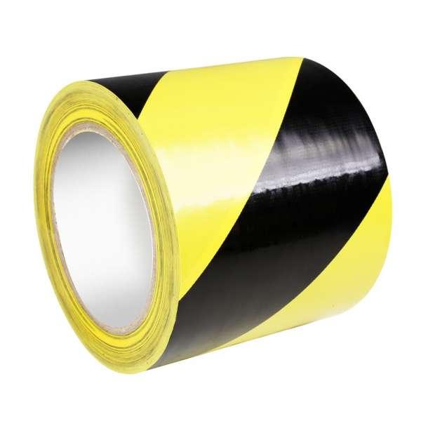 Adam Hall Warnband 0,15 mm x 100 mm x 33 m gelb/schwarz