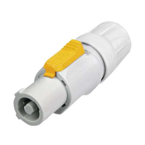 Neutrik NAC-3FCB Powercon Plug output (grey)