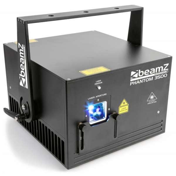 BeamZ Professional Phantom 3500 Pure Diode Laser RGB Analog
