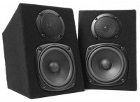 Fenton DMS40 DJ passiv Monitor Lautsprecher Paar