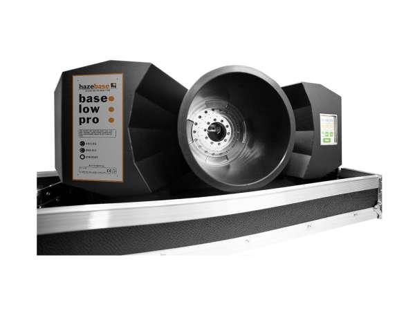 Hazebase base*low*pro,Kühleinheit, 70W mit 2600W Nebelmaschine, Amptown Case