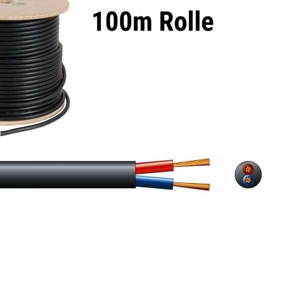 PD Connex Lautsprecherkabel 2 x 2,5mm 100m Rolle