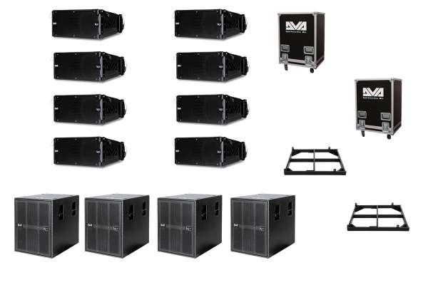 dB Technologies Line Array Set S2 K5 / KS10