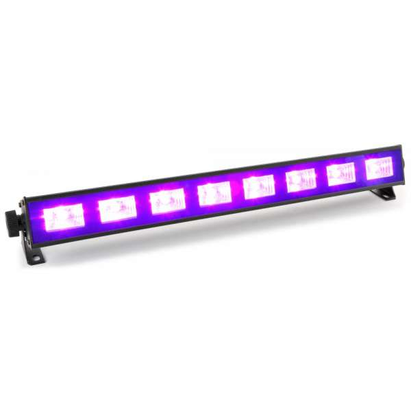 BeamZ BUV93 LED bar 8x3W UV