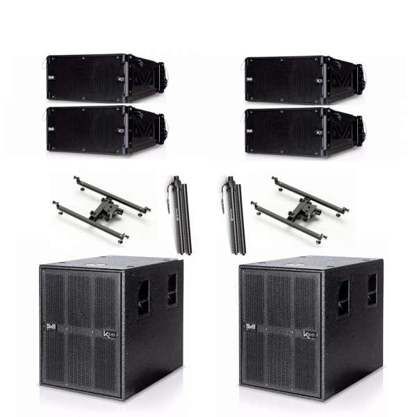 dB Technologies DVA K5 Basic Set