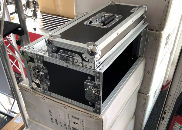 "Power Dynamics PD-F4US Flightcase 19"" 4HE ""SHORT"""