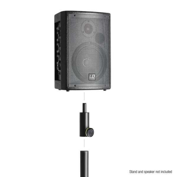 Gravity SF 3616 M Reduzierflansch 36mm auf 16mm männlich