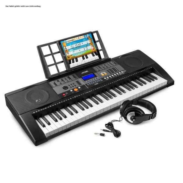 MAX KB3SET 61-Tasten-Keyboard mit Anschlagsdynamik und Kopfhörer