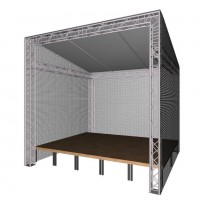 HOFKON ECO Stage S Bühnendach 5m x 4m