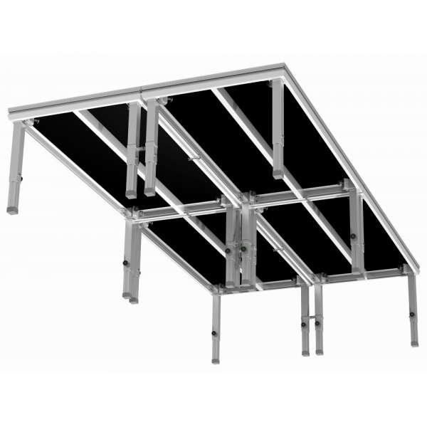 Power Dynamics Stage Deck Leveller Nivellierhilfe (3er Set)