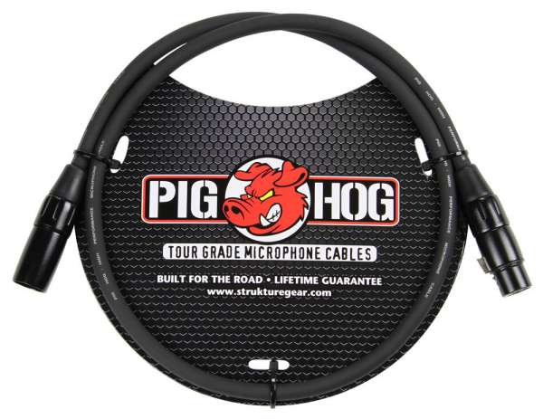 Pig Hog 15m XLR Mikrokabel, 8mm Ø