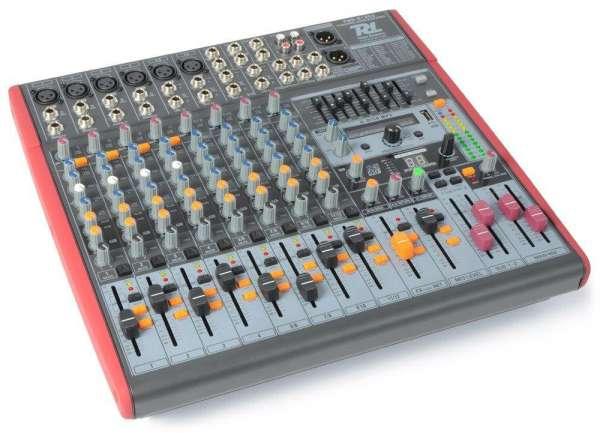 Power Dynamics PDM-S1203 Bühnen- und Studiomischpult mit USB/DSP/MP3