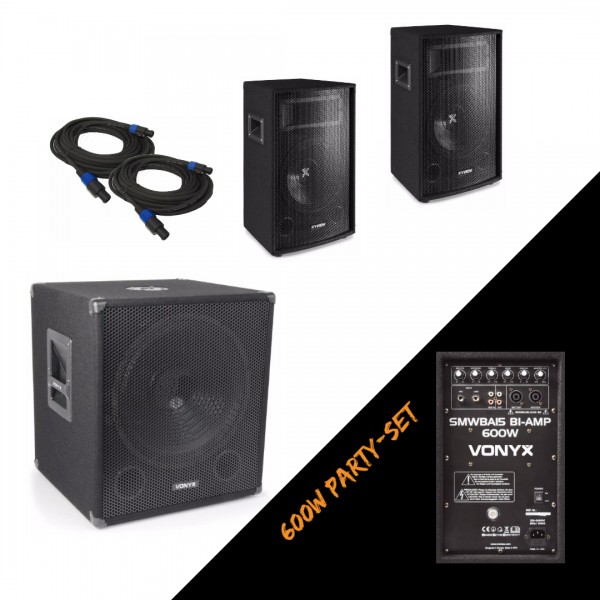 Vonyx 600W Party Set