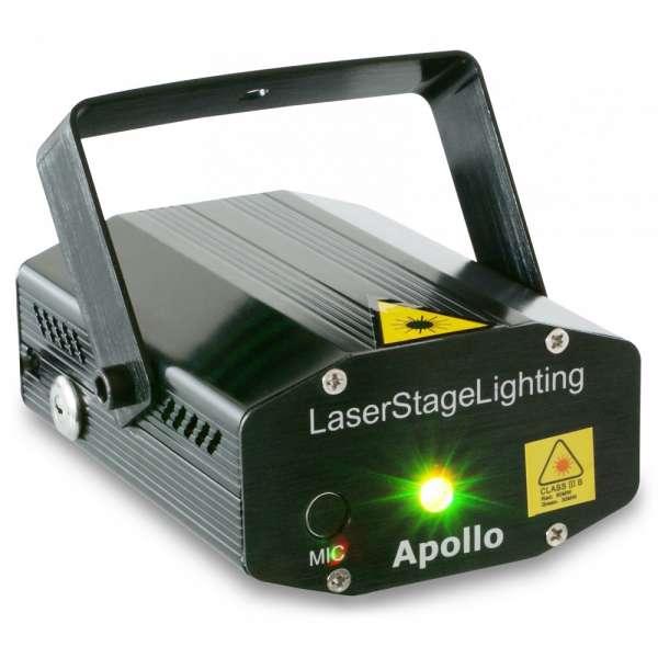 BeamZ Apollo Multipoint Laser Rot Grün