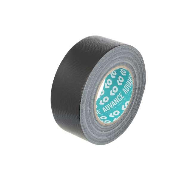 Advance Tapes 58062 BLK - Duct Tape schwarz 50 mm x 50 m