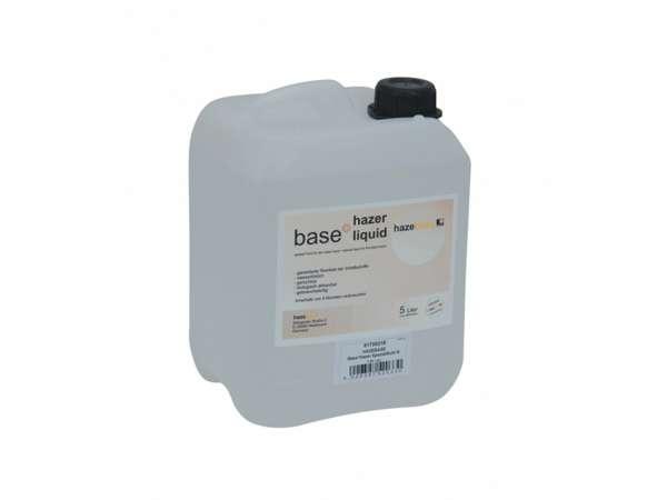 HAZEBASE base*hazer*liquid, Spezialfluid für den base*hazer, 5-Ltr.-Kanister