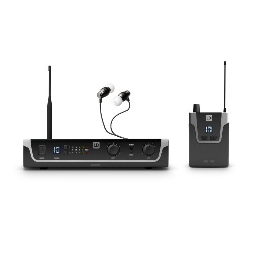 LD Systems U308 IEM HP - In-Ear Monitoring-System mit Ohrhörern