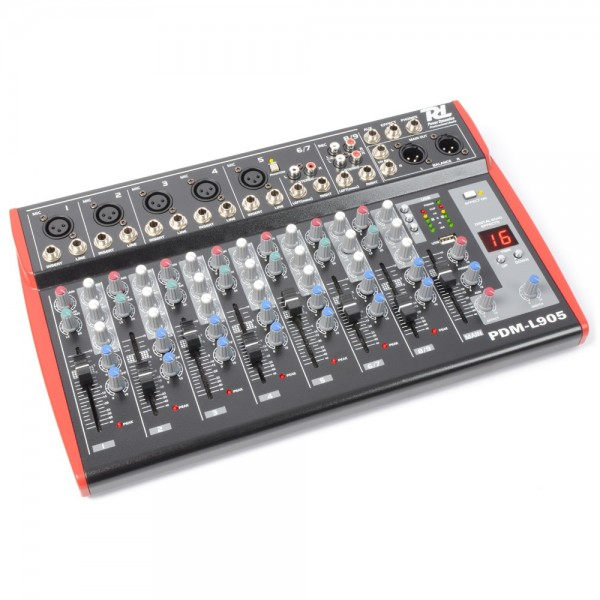 Power Dynamics PDM-L905 Musik Mixer 9-Kanal MP3/ECHO B-Ware