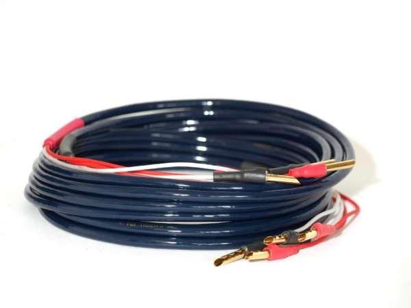 TCI Cables Tiger II 2 x 2,5m HIFI Lautsprecher Kabel