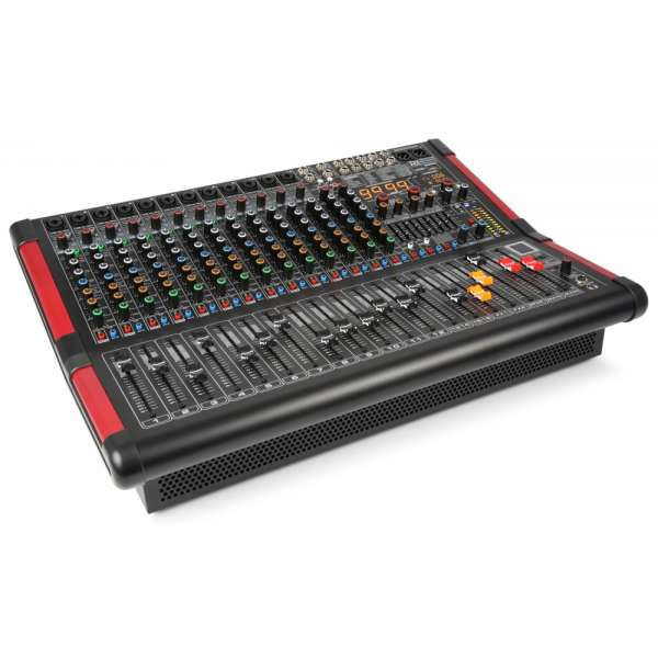 Power Dynamics PDM-S1604A 16-kanal Stage Mixer mit Verstärker