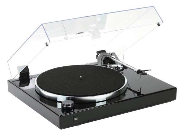 Dual CS 600 MK II Schallplattenspieler Klavierlack Schwarz Made in Germany