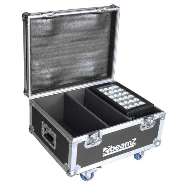 BeamZ Flightcase für 2x Star-Color