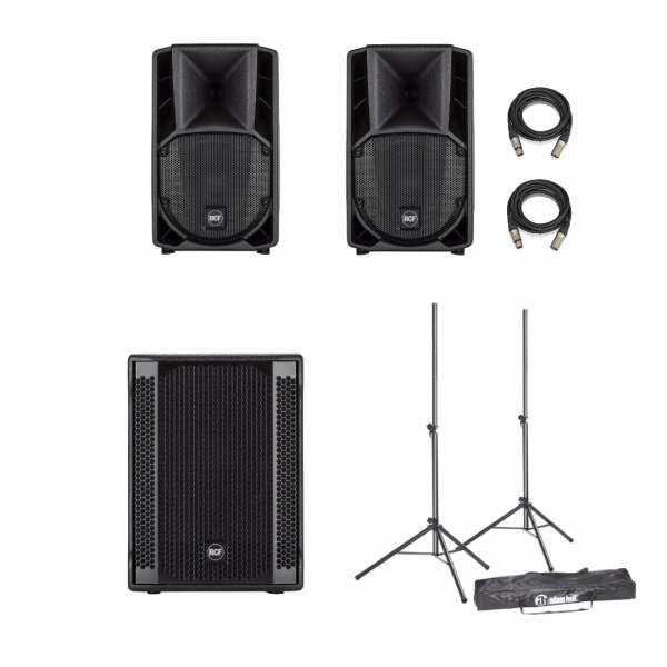 RCF ART 708-A MKIV Entertainer PA Set